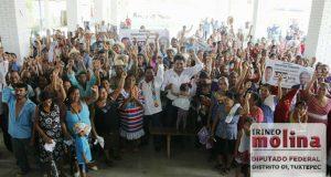 Revolución social será en  las urnas: Irineo Molina
