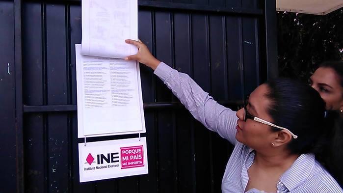Sin procedimiento de quejas por publicidad en lugares prohibidos contra partidos, reporta el INE