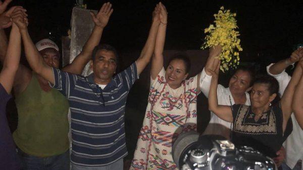 Reconoce Karina Barón, valor del Presidente del PAN para levantarle la mano