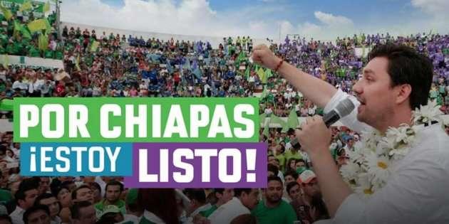 Partido Verde rompe alianza con el PRI en Chiapas