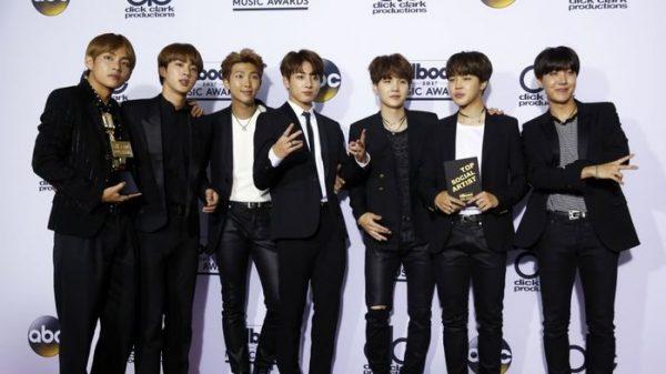 BTS, figuras en el Billboard Music Awards: ganan el premio a Mejor Artista en Redes Sociales