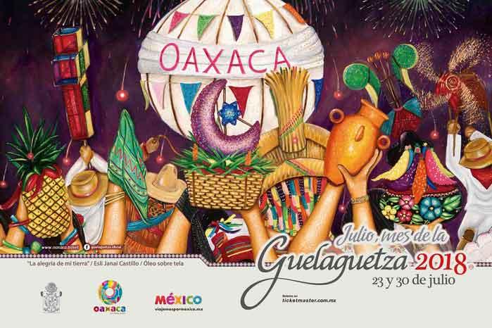 Todo listo para la preventa y venta de boletos  para la Guelaguetza 2018