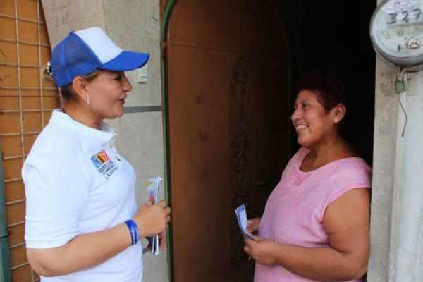Pide Laura Castellanos a panistas de Tuxtepec que se dejen de niñerías