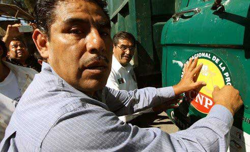 Ejecutan a líder de transportistas en Oaxaca