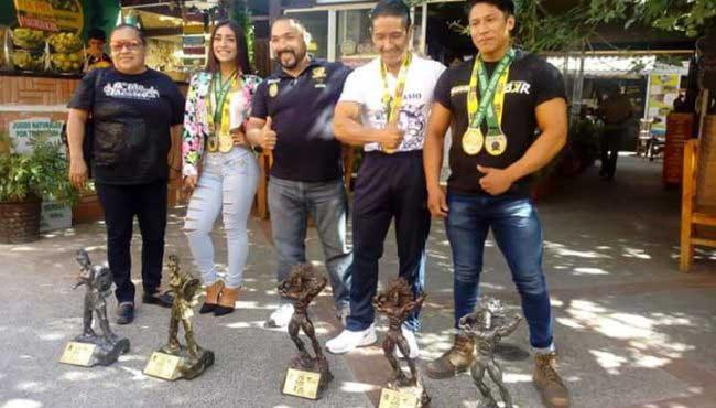 La delegación de Oaxaca lució en la edición 39 del Mr. México Juvenil y Veteranos.