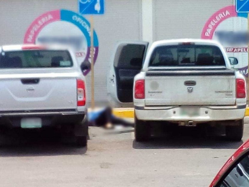 Ejecutan a mujer en el estacionamiento de la Multiplaza Tuxtepec