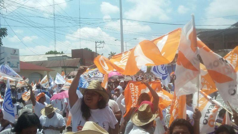 Respaldan comunidades y colonias a José Soto en su cierre de Campaña