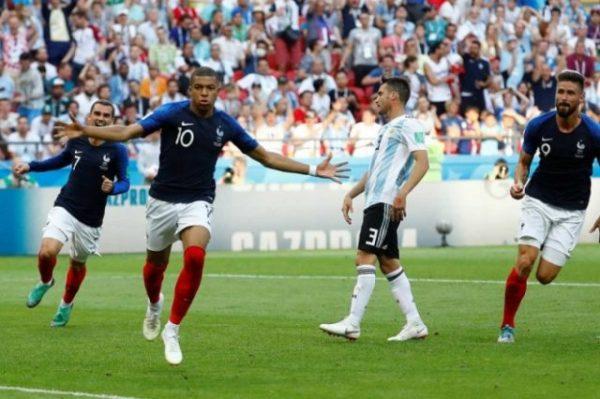 Francia elimina a Argentina en un partidazo