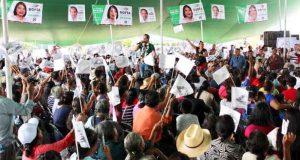 Zimatlán con toda la fuerza para llevar al Senado a Raúl Bolaños Cacho Cué
