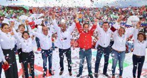 Con un PRI fuerte, unido y del lado de la gente, Raúl será senador: Juárez Cisneros