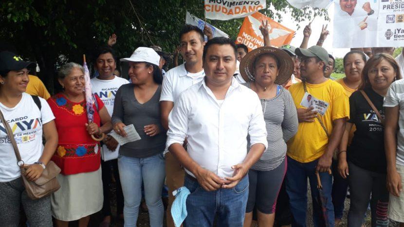 Sin ser ratificado por el TRIFE, candidato de Chiltepec  continúa promocionando el voto a su favor