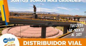 Presenta José Soto proyecto de distribuidor vial para Tuxtepec