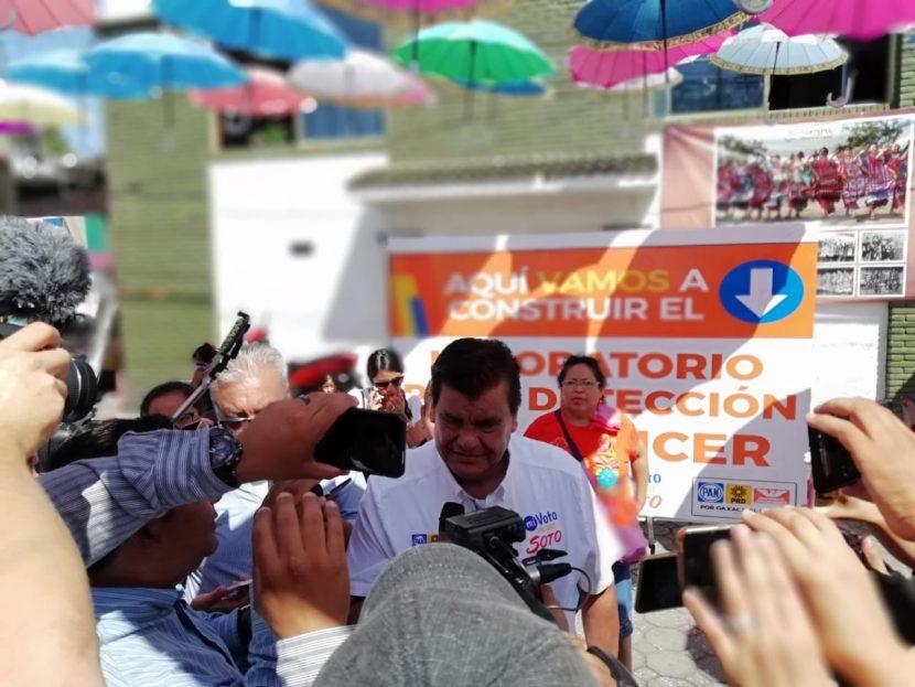 Con laboratorio de detección de cáncer  Soto atacará rezago en salud pública