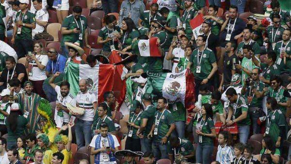Afición mexicana grita Eh pu… a pesar de advertencias