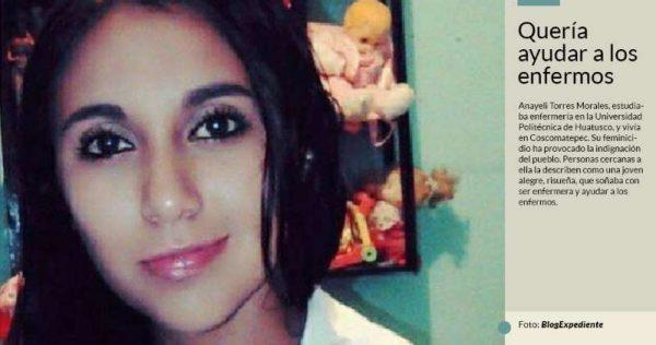 Anayeli de 19 años, es hallada muerta en una barranca en Veracruz