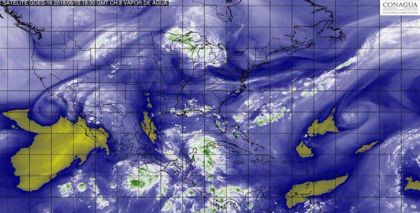 Evoluciona depresión tropical a tormenta Carlotta al sur de Guerrero