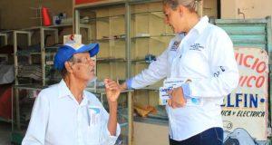Distrito 01 ya decidió trabajar de Frente con Laura Castellanos