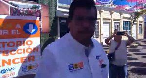 Anuncia José Soto construcción del laboratorio para detección del cáncer