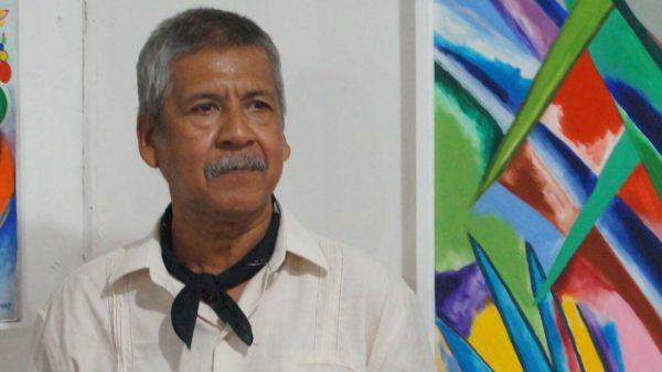 Inauguran exposición pictórica de Carlos Castro Grau