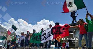 Festejan en la Ciudad de Oaxaca triunfo de la selección en Rusia