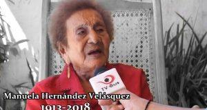 Muere Manuelita Hernández, una de las mujeres más longevas de Tuxtepec