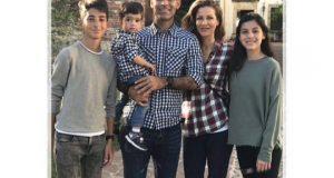 Por primera vez vemos a Rafa Márquez en una foto junto a sus tres hijos