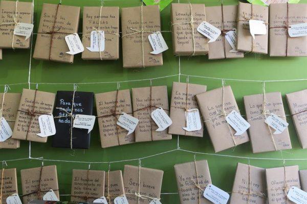 ¿Qué tal tener una cita a ciegas con un libro?