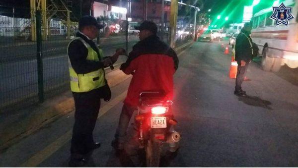 Van 4 vehículos asegurados en Tuxtepec con denuncia de robo en operativos: Policía vial