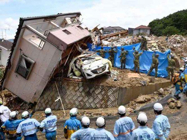 Sube a 209 muertos por inundaciones en Japón