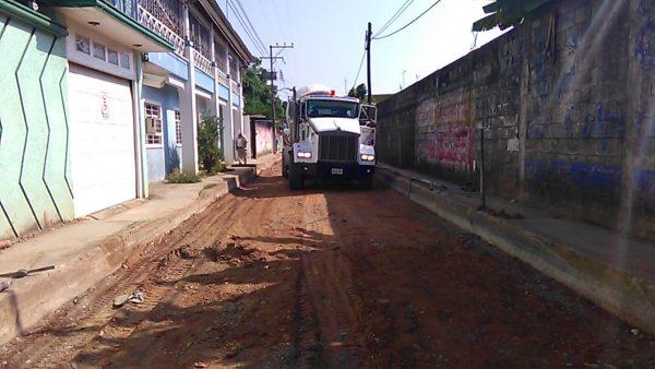 En 20 días podrían terminarse los trabajos en la calle Rayón