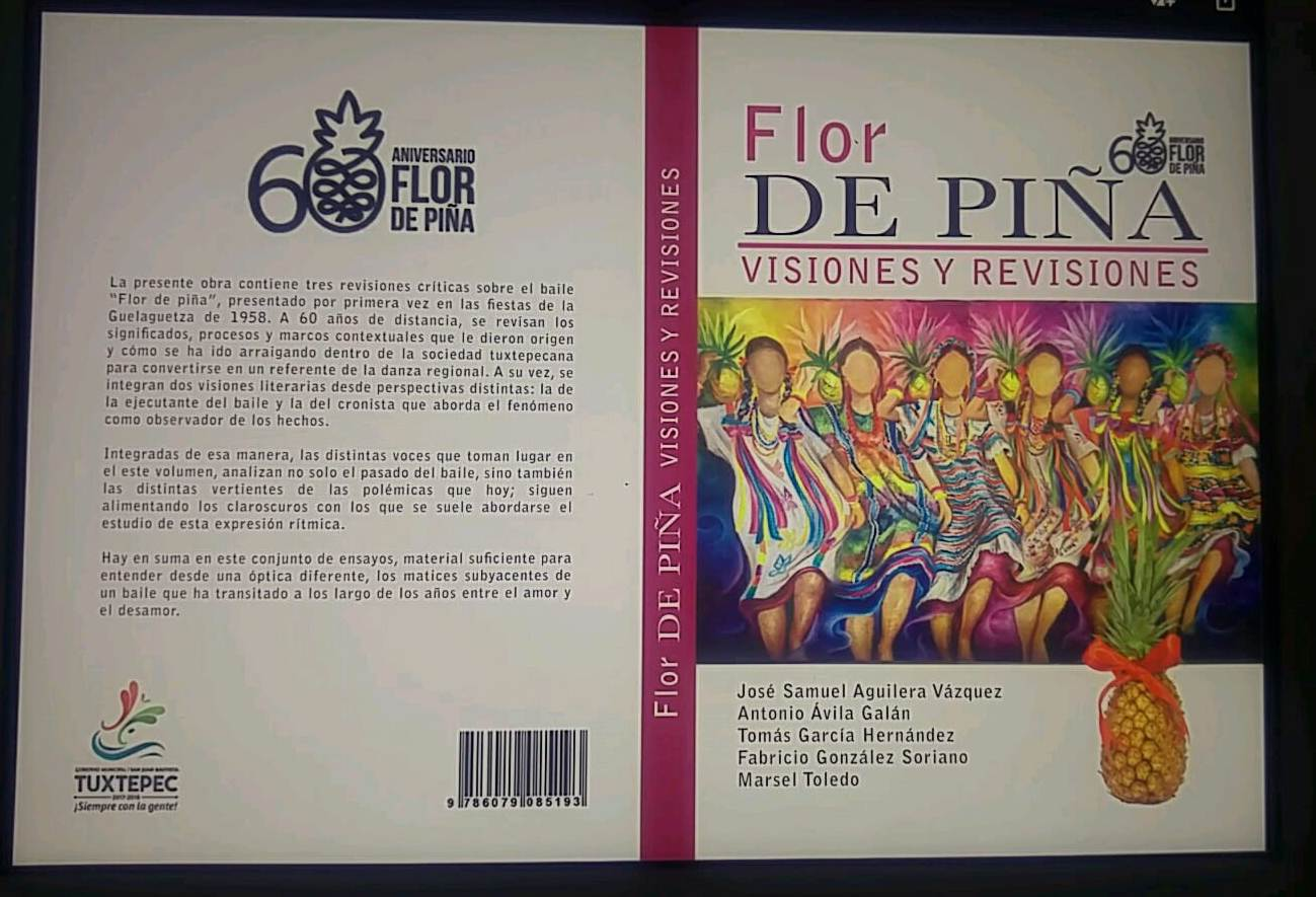 "En el marco de la Guelaguetza presentarán libro ""Flor de Piña ..."