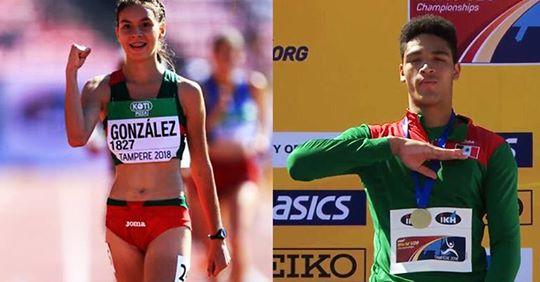 Alegna González y Vilches hacen historia en mundial de atletismo