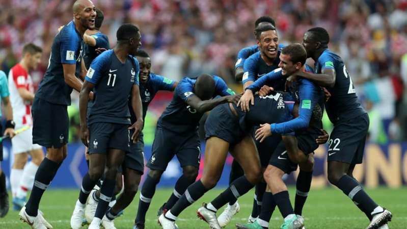 Francia es Bicampeón del mundo; iguala a Argentina y Uruguay
