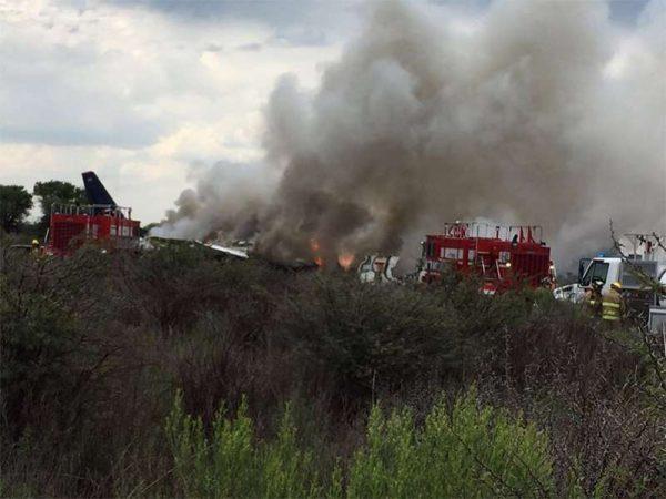 Confirman que no hay fallecidos por desplome de avión en Durango