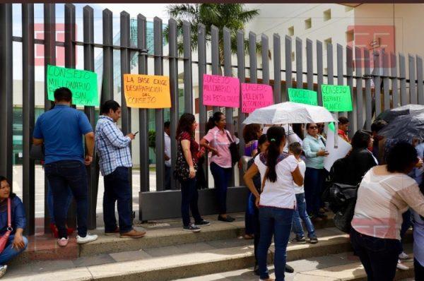 Piden desaparicion del consejo de la Judicatura en Oaxaca