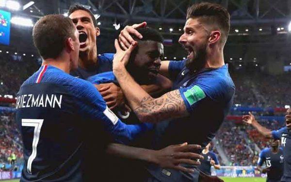 Francia, primer finalista de la Copa Mundial #Rusia2018