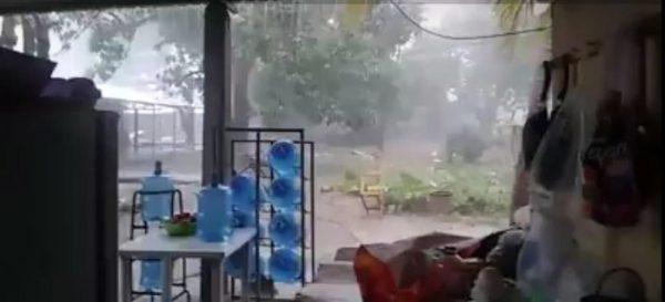 Tormenta en el Istmo provoca daños