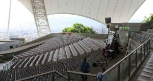 El Auditorio Guelaguetza está listo para la gran fiesta de Oaxaca