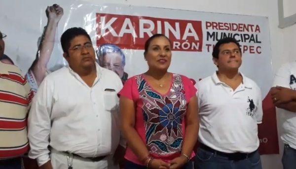 Agradece Karina Barón a los más de 20 mil tuxtepecanos que confiaron en su proyecto