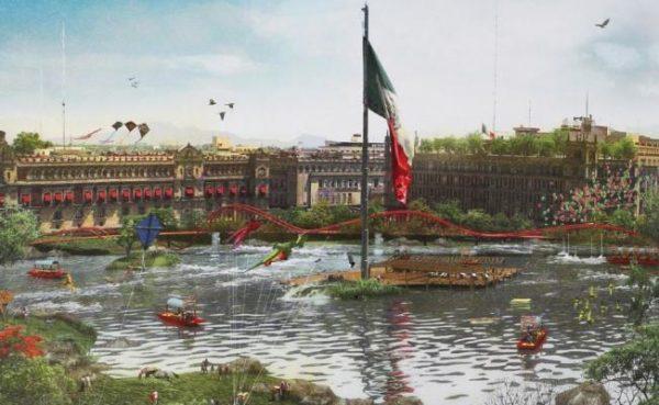 El nuevo aeropuerto provocará el relleno del lago y la destrucción de cerros