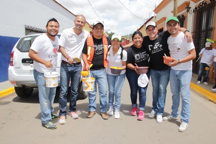 """Participa DIF Estatal en """"Tequio por Oaxaca 2018"""""""