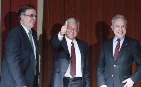 López Obrador propone a Marcelo Ebrard como secretario de Relaciones Exteriores