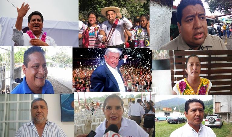 MORENA arrasa en la Cuenca, gana 2 diputaciones locales y 5 presidencias