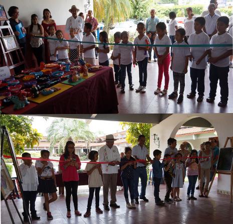 Clausuran cursos en la casa de la cultura de Tuxtepec.