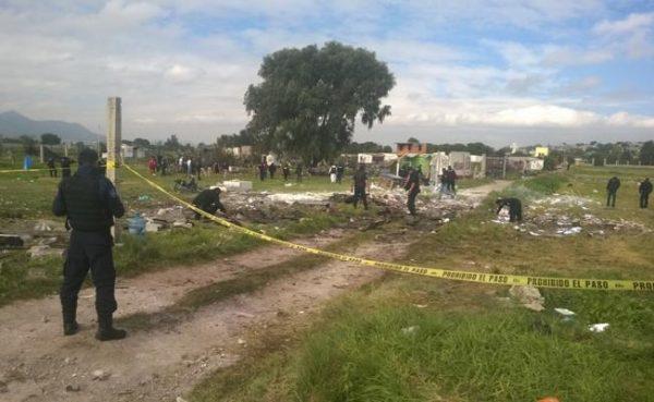 Continúan hospitalizadas 38 personas tras explosiones en Tultepec