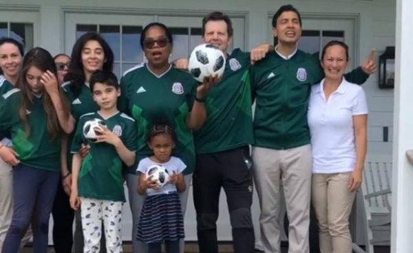 Así apoyó Oprah Winfrey a México en el Mundial