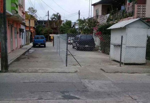 Denuncia ejidatario, que autoridades les quieren quitar parte de su terreno