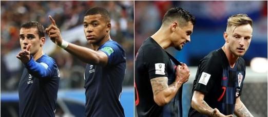 Francia y Croacia, por la gloria mundialista
