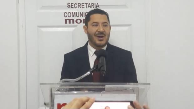 Anuncia Martí Batres que Morena presentará iniciativa para derogar Reforma Educativa