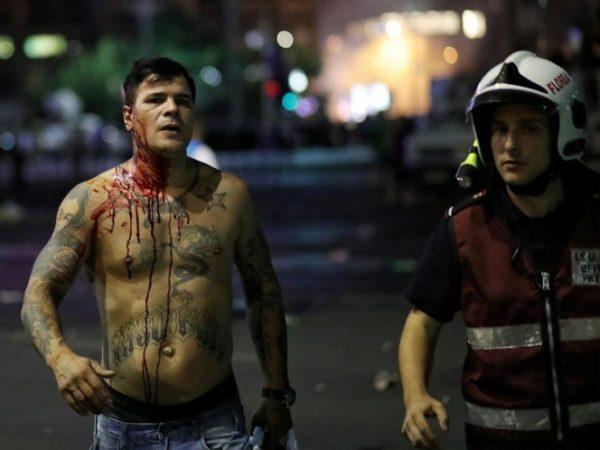 Protestas antigubernamentales dejan cientos de heridos en Rumania